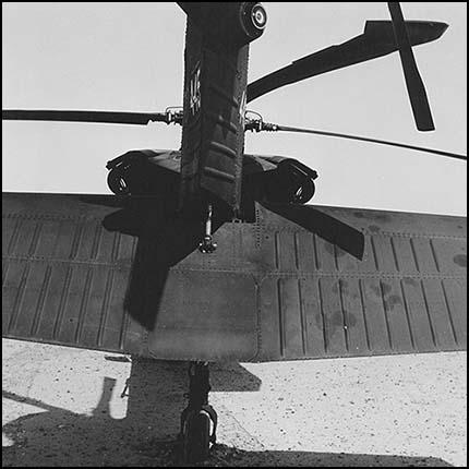Blackhawk. Near Karbala. June 2006