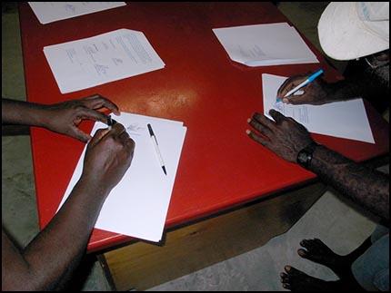 Signing of M.O.U