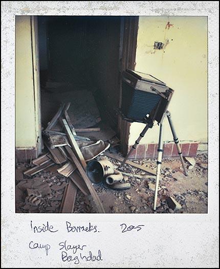 Inside barracks. Camp Slayer, Baghdad 2005