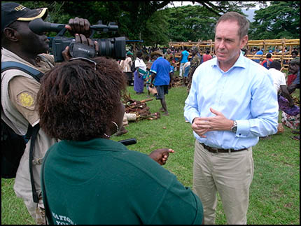 Interview: David McLachlan-Karr (head of UN PNG)