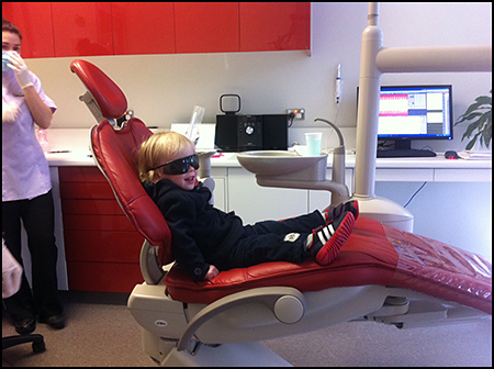 Fred at the dentist