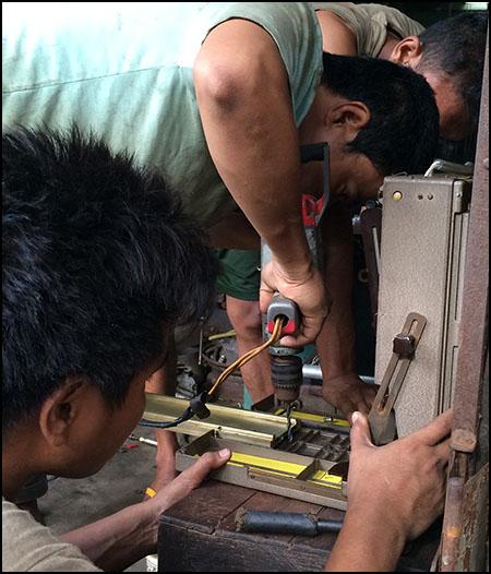 drilling camera