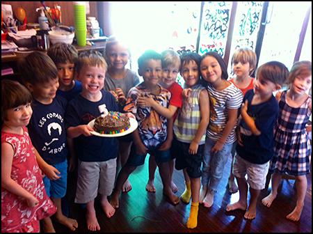 Journal 20160606 birthday celebrations for my big boy - party at school